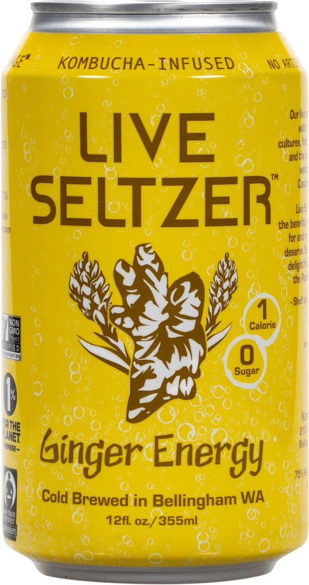 Ginger Seltzer