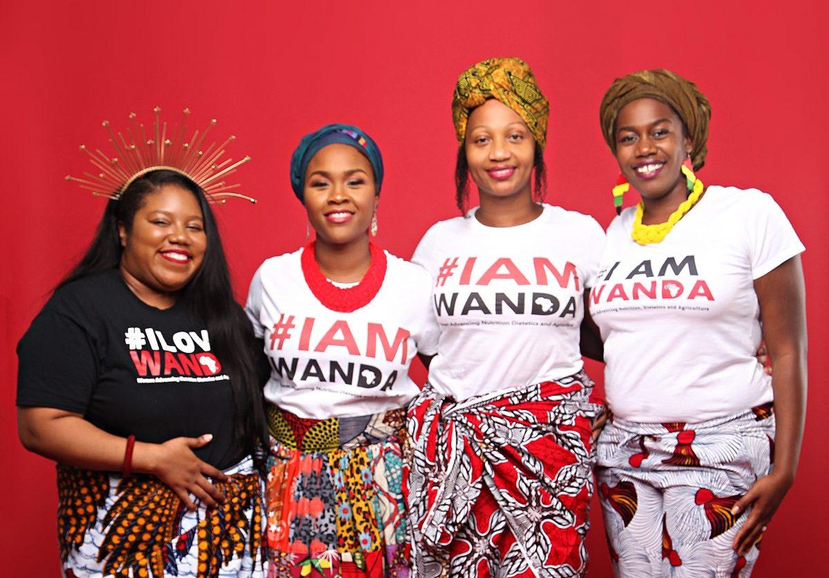 Tambra Raye Stevenson and WANDA team members