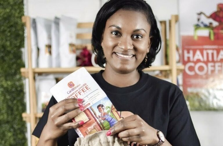Beverly Malbranche, founder of Caribbrew coffee