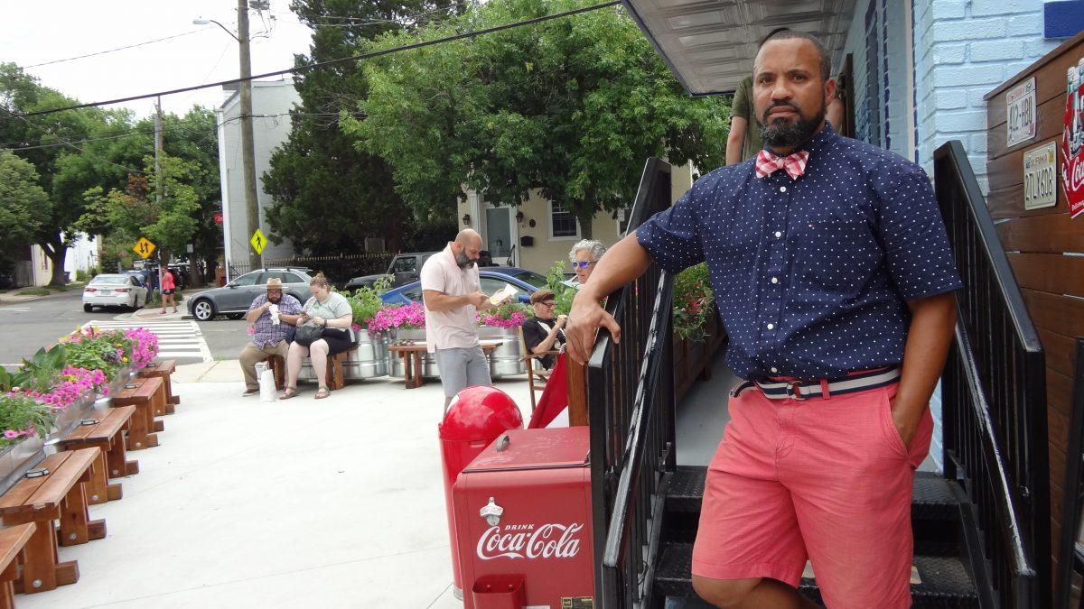 Brandon Byrd, owner of Goodies Frozen Custard & Treats