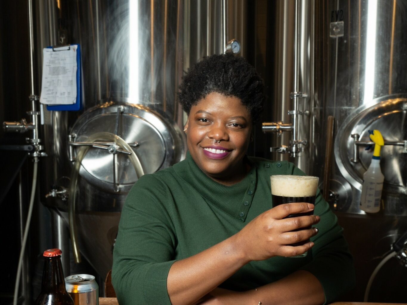 AirBrewNB Founder Elle Thomas Creates Space for Women to Thrive in Beer Industry