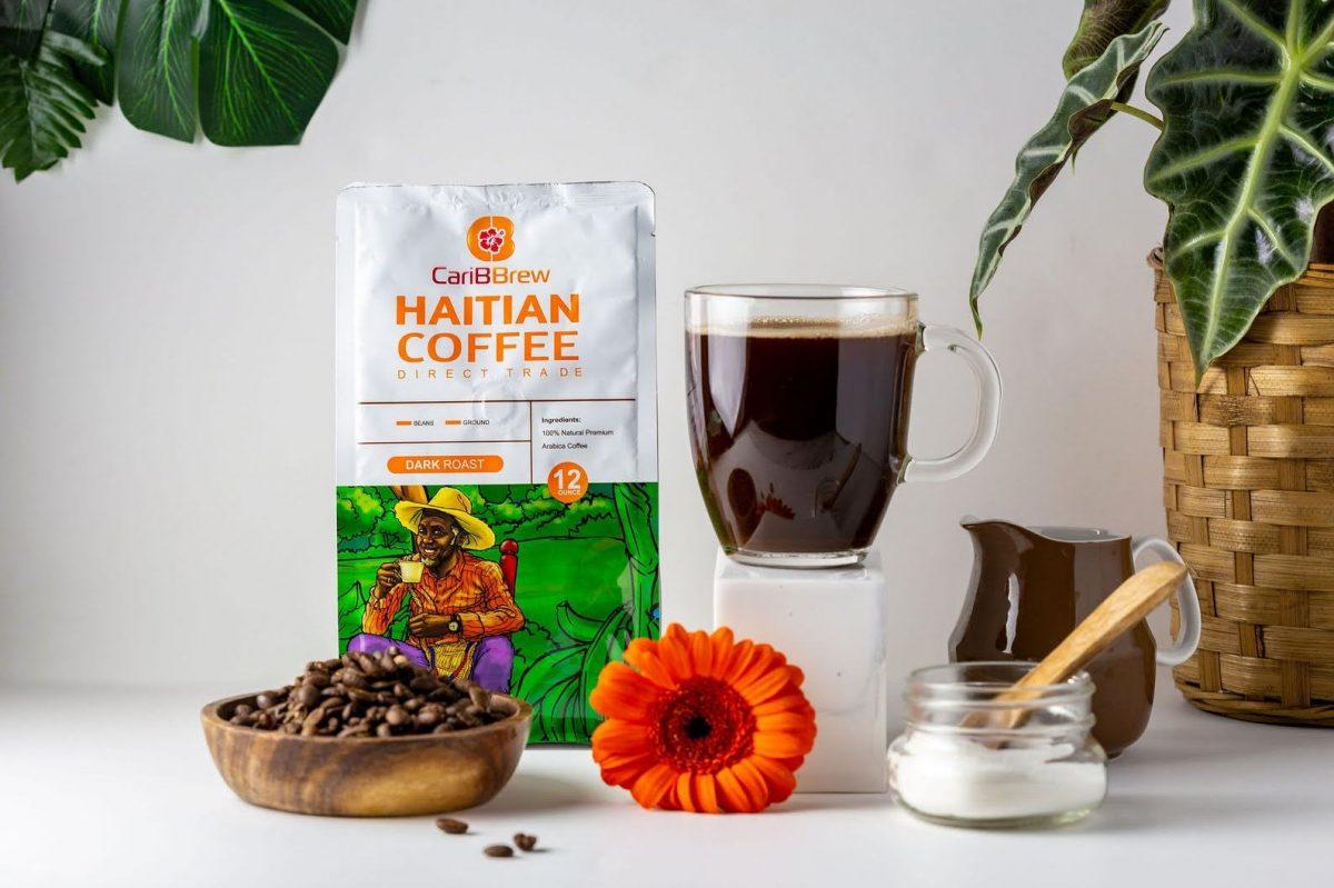 Caribbrew dark roast coffee