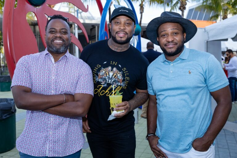 Creole Food Festival founders with Pleasure P