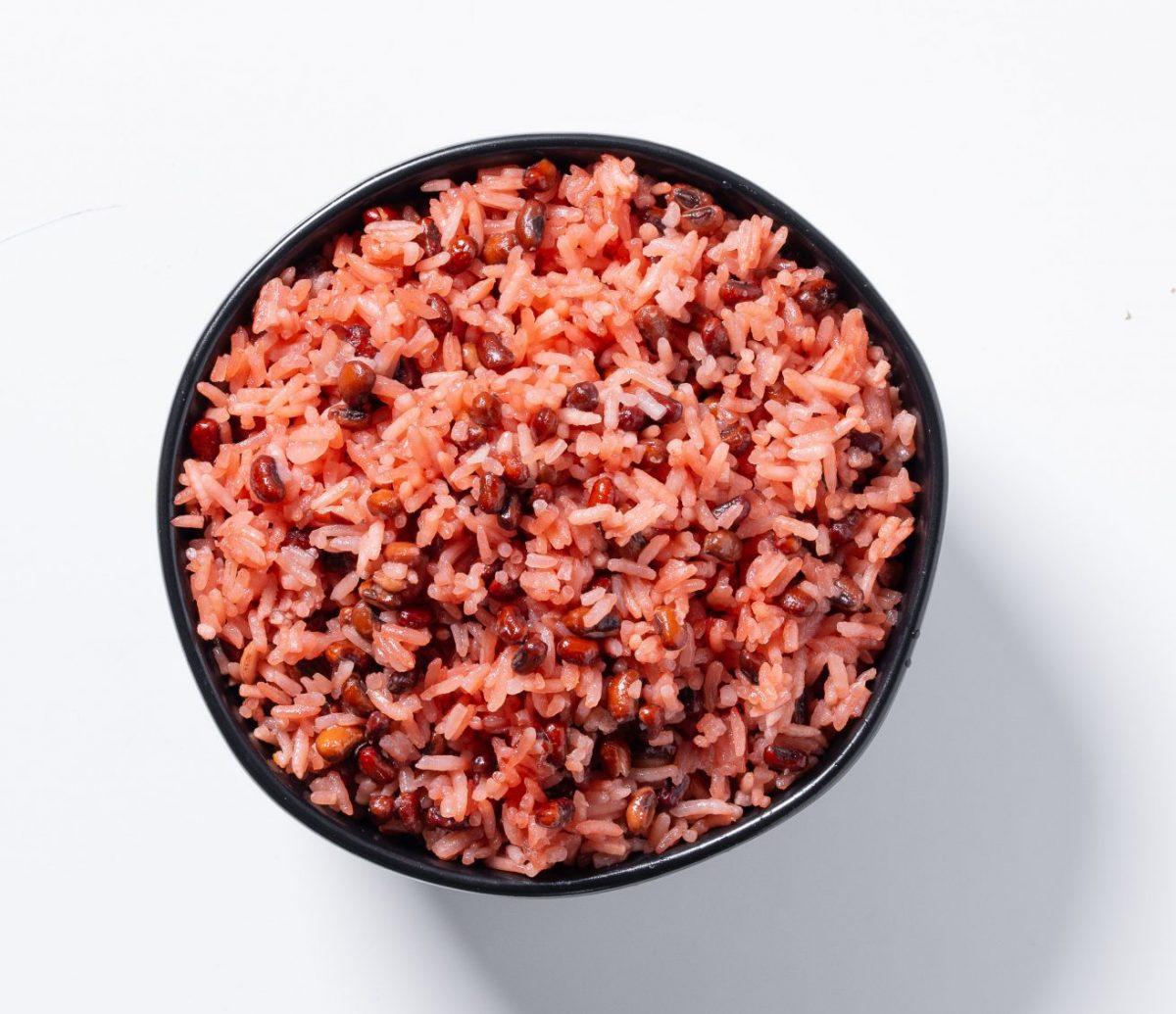 Chef Eric Adjepong's waakye dish for AYO Foods