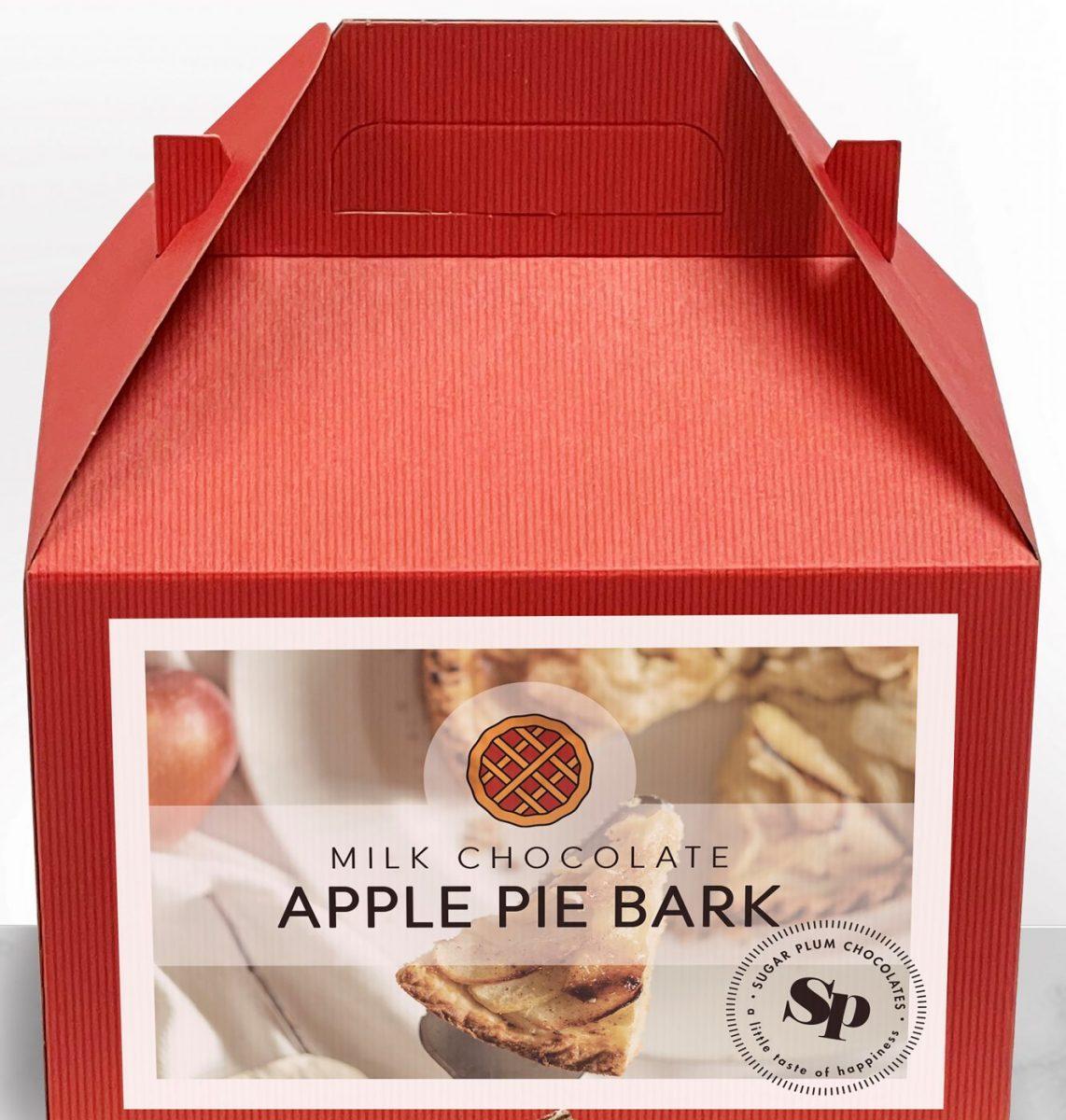 Milk Chocolate Apple Pie Bark