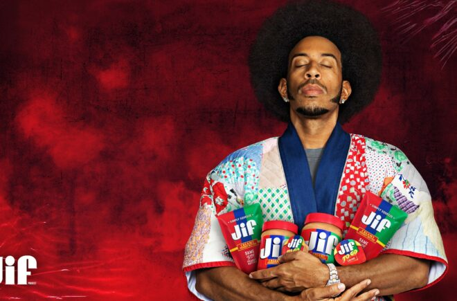 Ludacris stars in the latest creative ad in the That Jif'ing Good