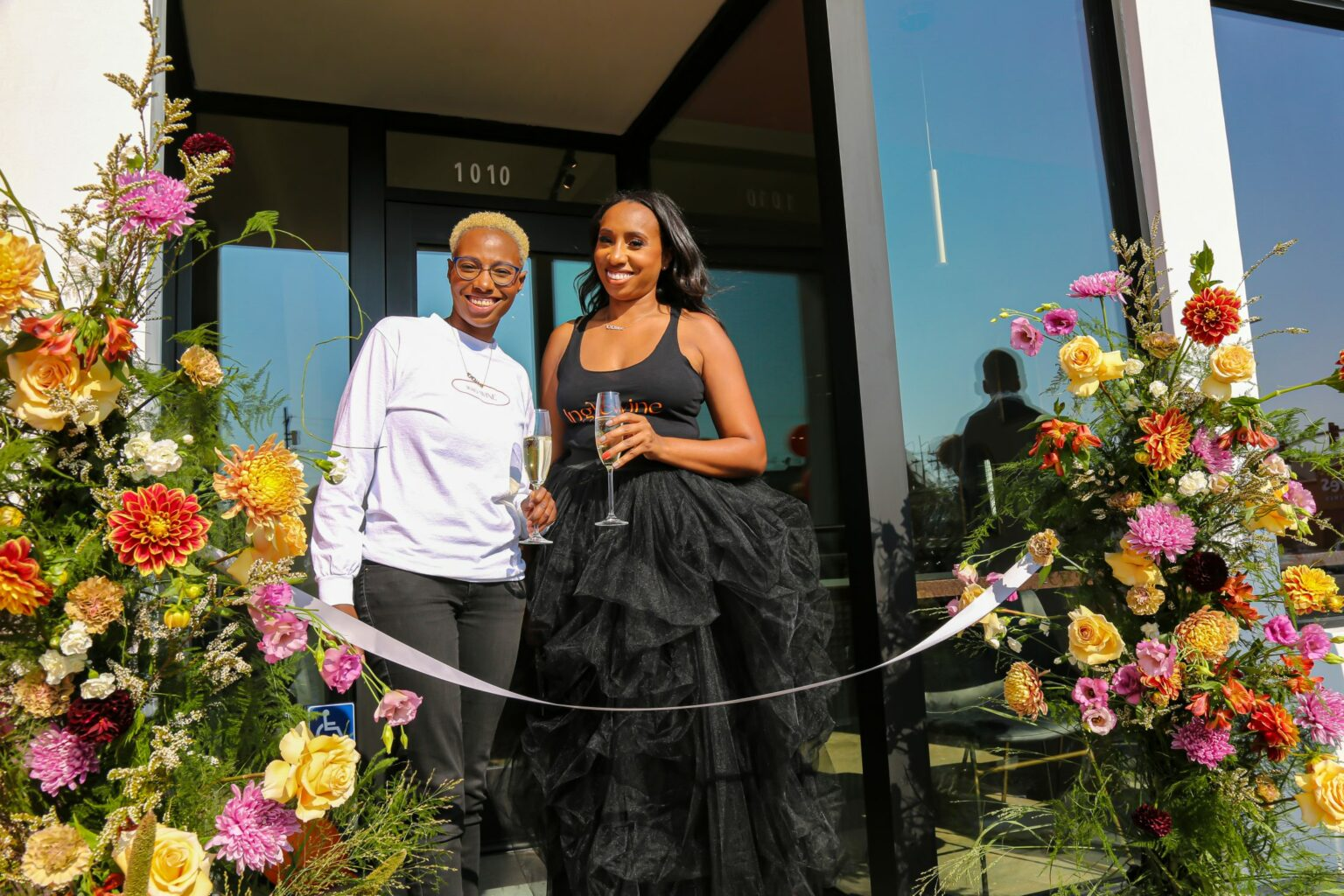 Keeping it in the Family: Sisters Leslie and LeAnn Jones Open Inglewood's First Wine Bar