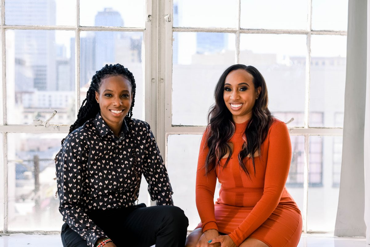 LeAnn and Leslie Jones, owners of 1010 Wine & Events
