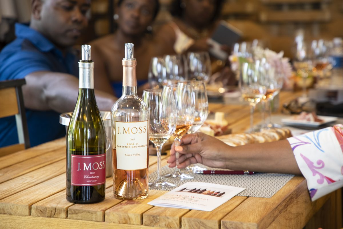 Uncorked and Cultured wine tasting at J Moss Vineyards in Napa
