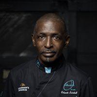 Orlando Satchell in black jacket